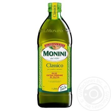Масло оливковое Monini Extra Vergine первого холодного отжима 1л - купить, цены на Восторг - фото 1
