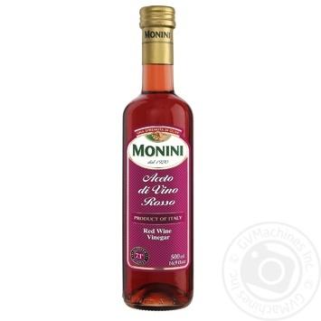Уксус Monini винный красный 7.1% 500мл
