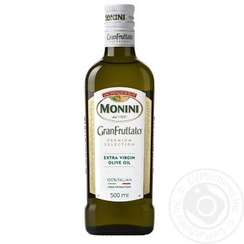 Олія оливкова Monini Granfruttato Extra Vergine преміум-класу 500мл