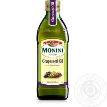 Масло Monini из виноградных косточек 500мл