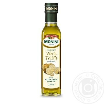 Monini Extra Virgin with natural white truffle extract olive oil 250ml