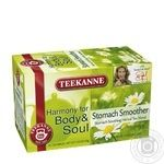 Tea Teekanne Garmonia herbal packed 20pcs 40g cardboard packaging