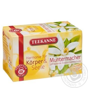 Чай травяной Teekanne Бодрость 20шт 2г