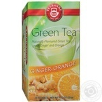 Green tea bags Teekanne Ginger-Orange 20x1.75g Germany