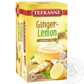 Чай травяной Teekanne Имбирь и Лимон 20шт 1.75г - купить, цены на Novus - фото 1