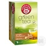 Tea Teekanne with cinnamon green packed 20pcs 35g