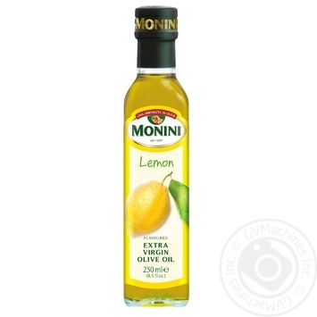 Monini Extra Virgin with natural lemon extract olive oil 250ml
