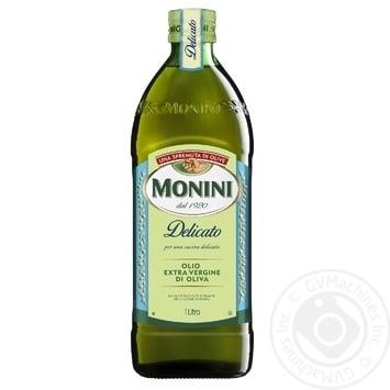 Олія оливкова Monini Extra Virgin Delicato 1л