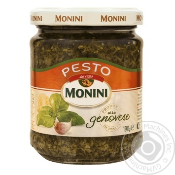 Monini Pesto sauce with basil and garlic 190g