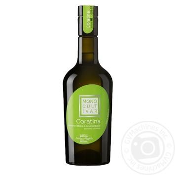 Масло оливковое Monini Extra Vergine Monocultivar Coratina Bio 500мл