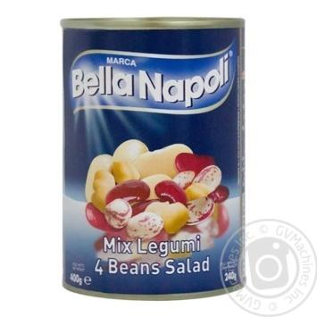 Ассорти Bella Napoli 4 видов бобовых 400г