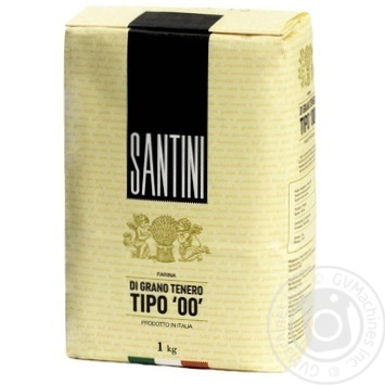Santini Tipo 00 from soft wheat flour 1kg