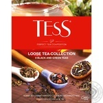 A composition of 9 kinds of Tess leaf tea 355g