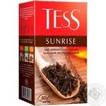 Чай чорний Tess Sunrise 80г