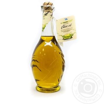 Олія оливкова нерафінована першого віджиму Kamarko 500 мл скляна пляшка - купить, цены на Novus - фото 2