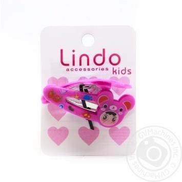 Заколка Lindo дитяча 2шт LN-875 - купити, ціни на CітіМаркет - фото 1