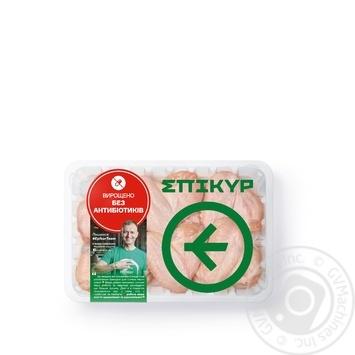 Крыло Epikur цыпленка-бройлера охлажденное весовое