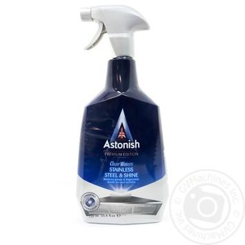 Засіб для чищення і полірування виробів з неіржавіючої сталі Astonish 750мл