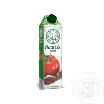 Сок Наш сок Томатный с мякотью 950мл - купить, цены на МегаМаркет - фото 1