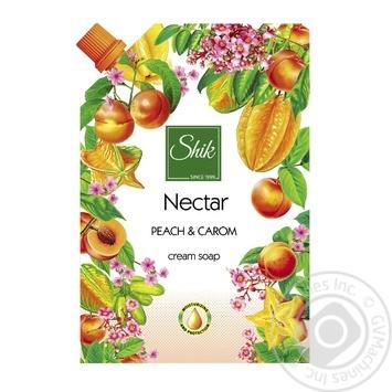 Крем-мыло жидкое Шик Nectar Оливковое 460г - купить, цены на Фуршет - фото 1