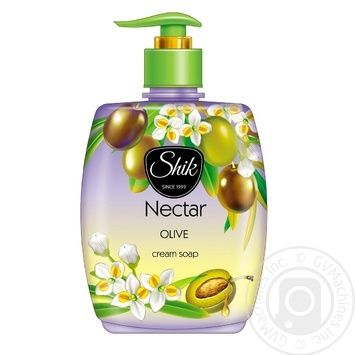Shic Nectar Cream-soap Olive liquid 300g - buy, prices for Furshet - image 1