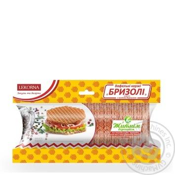 Lekorna Brizoli Wafer Cakes With Rye Flour And Italian Herbs 42pcs 50g - buy, prices for CityMarket - photo 1