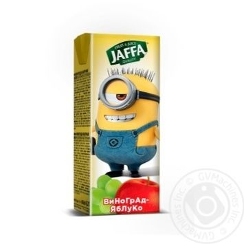 Juice nectar Jaffa Minions Grape-apple 200ml - buy, prices for Novus - image 1