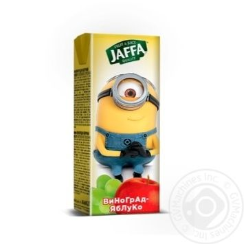Juice nectar Jaffa Minions Grape-apple 200ml - buy, prices for Novus - image 2