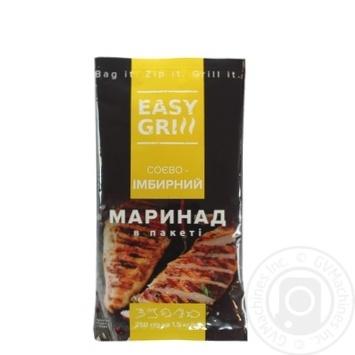 Маринад EASY GRILL Соево-имбирный 250г