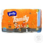 Паперовi рушники Grite Family 4 - купити, ціни на Novus - фото 1