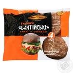 Булочки КиевХлеб Балтийские ржаные темные с солодом 240г