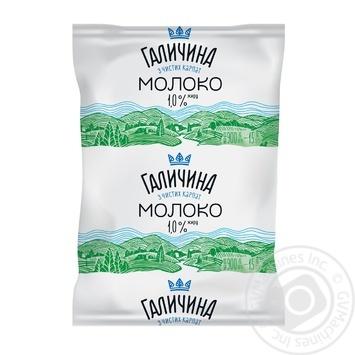 Молоко Галичина ультрапастеризоване 1% 900г - купити, ціни на Метро - фото 1