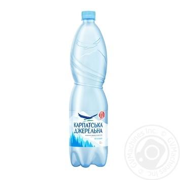 Still natural mineral water Karpatska Dzherelna 1,5l