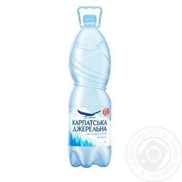 Вода Карпатская Джерельна негазированная 2л - купить, цены на ЕКО Маркет - фото 1