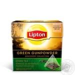 Чай зеленый Lipton Green Gunpowder с ароматом османтуса и груши 20пак