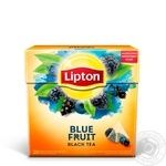 Lipton Blue Fruit Black Tea with wild berries 20pcs 2g