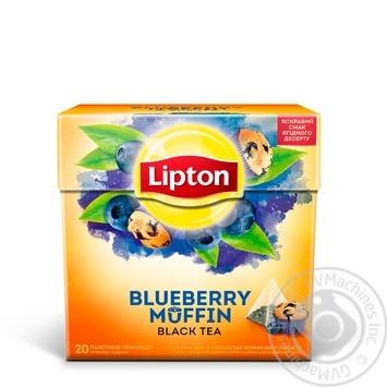 Чай черный Lipton Blueberry Muffin 20*1,8г