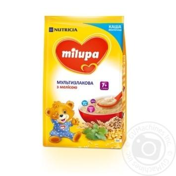 Каша Milupa молочная мультизлаковая мелисса 210г