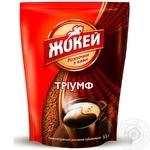 Кофе Жокей Триумф натуральный растворимый сублимированный 65г