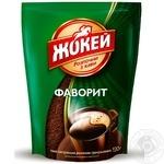 Кофе Жокей Фаворит растворимый гранулированный 130г