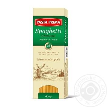Pasta spaghetti Pasta prima 600g - buy, prices for MegaMarket - image 1