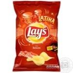 Чипсы Lay's со вкусом бекона 133г