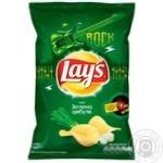 Чипсы Lay's со вкусом зеленого лука 133г