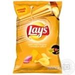 Чіпси Lay's Дует сиру Чеддер і солодкої цибулі 120г