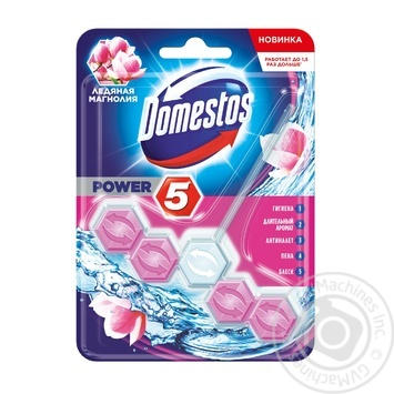 Means Domestos magnolia for toilets 55g - buy, prices for Novus - image 1