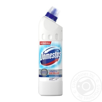 Toilet cleaning gel Domestos Ultra white 500ml - buy, prices for Novus - image 1