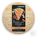 Основа для піци Геркулес 2 коржа заморожена 320г