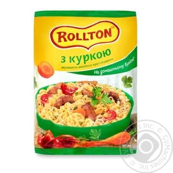 Rollton Noodles With Chicken Flavor