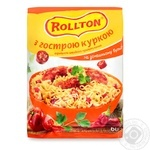 Rollton quick cooking with chicken pasta 60g