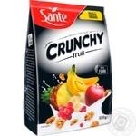 Кранчі Sante з фруктами 350г